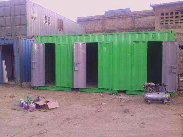 20ft Stalls Container with cut-out doors Ruiru - image 3