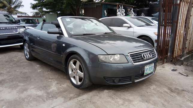 Smooth Driving Registered 2004 Audi A4 1.8T Convertible In Good Condit Lekki - image 2