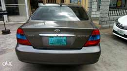 Super clean Toyota Camry 2003 model accident free Lagos cleared