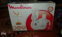 Ksh 24000 moulinex blender 27 functions and 7 accessories
