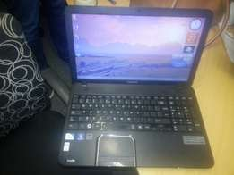 Clean Toshiba Satellite C850 Intel Dual core laptop