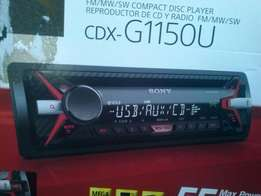 Sony car radio CDX-G 1150U