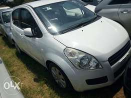 New Suzuki splash clean pearl white