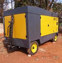 Atlas Copco 800CFM Mobile Air Compressor