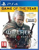 PS4 Game: The Witcher 3 - Wild Hunt