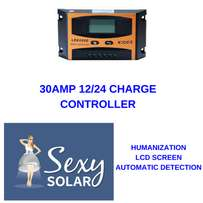 30AMP 12-24V Charge Controller