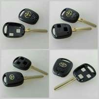 2 and 3 top button Toyota key shell available