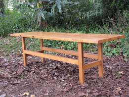 Pine coffee table or bench