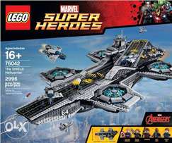 lego Star Wars The Hield Helicarrier