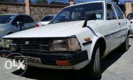 1979 Toyota Corrola K170 KZE manual old is gold