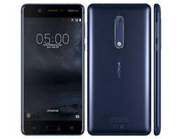 Nokia 5 [16GB ROM+2GB RAM] LTE,13MP+8MP Camera,Android 7.1.1,BrandNEW