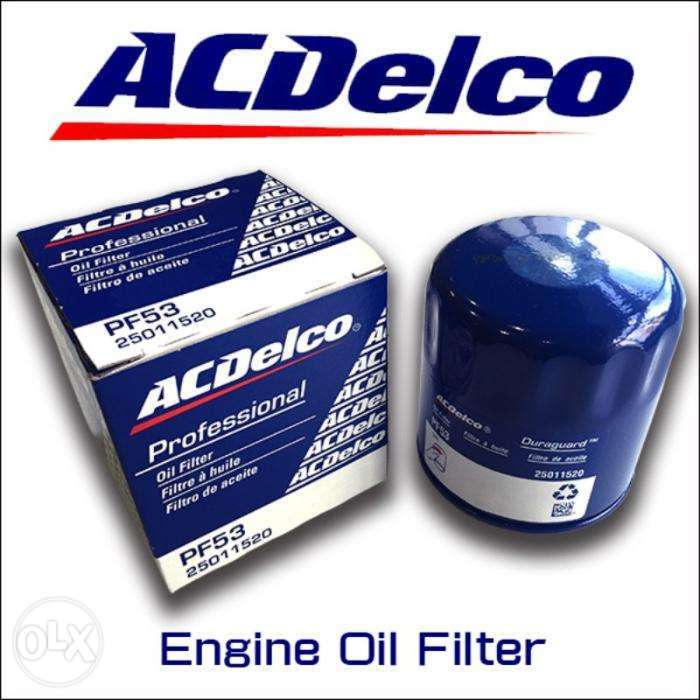 Ac Delco Engine Oil Filter Pf53 Festac Town