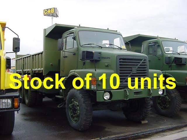 Volvo N10 - 6x6 Tipper trucks / 10 Units - 1989