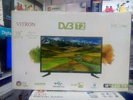 No side Speakers:HTC 19 Inches LED Digital TV Brand New in Box at Shop