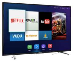 new 55 inch hisense smart 4k uhd smart tv ,youtube,google,netflix shop