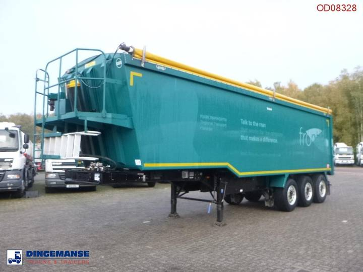 Weightlifter Tipper trailer alu 50 m3 + tarpaulin - 2012