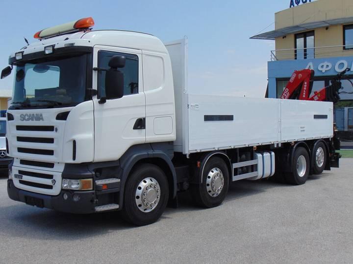 Scania R 500 8X2 - 2007