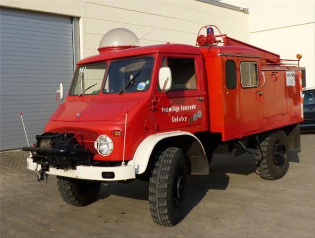 Unimog S 404 4x4 S404 4x4, Feuerwehr - 1960