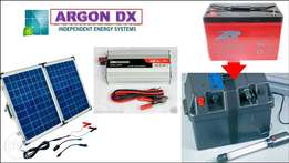 November Promo!!! Solar - inverter & heavy duty battery