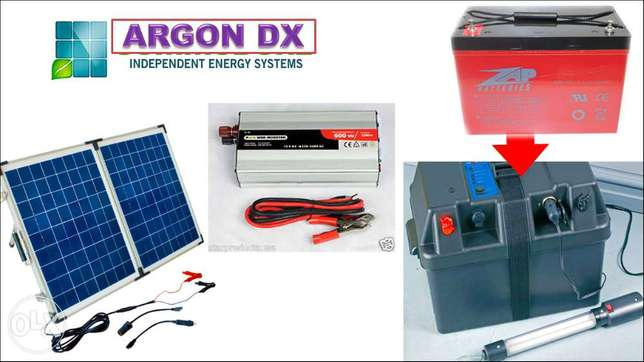 November Promo!!! Solar - inverter & heavy duty battery Ibadan South West - image 1