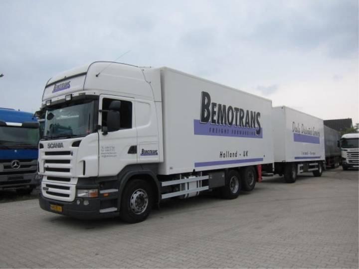 Scania R 420 LB6X2 Topline Combi Retarder