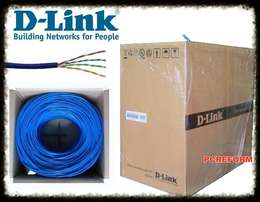D-LINK, and Easenet Networking cables at 30 bob per meter
