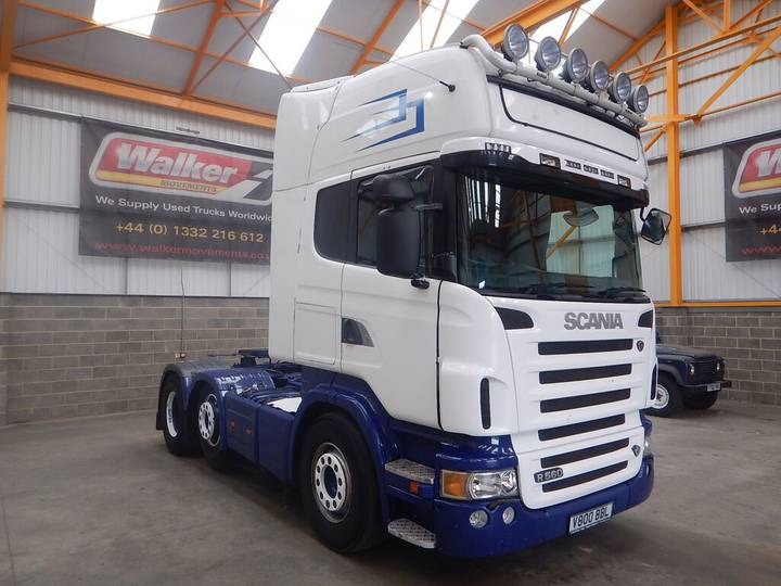 Scania R560 V8 TOPLINE, 6X2 TRACTOR UNIT - 2008 - LD08 POW - 2008