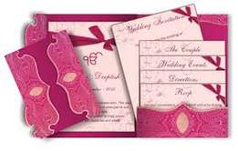 Wedding card design as from Ksh. 10 - 30 per piece