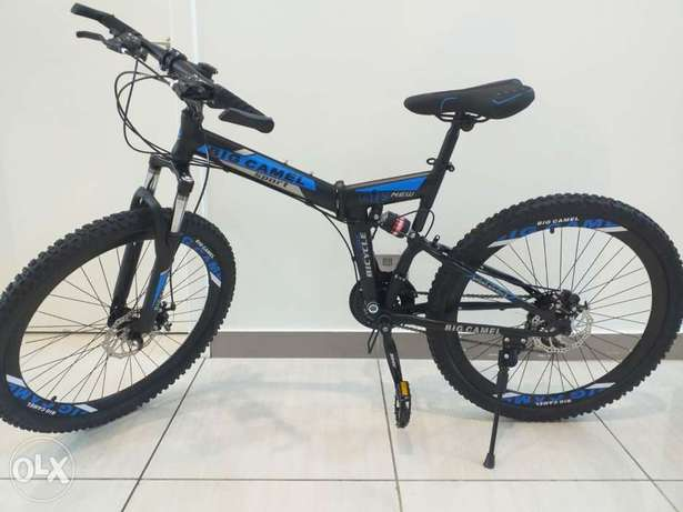 Available for delivery 26 inch foldable bikes