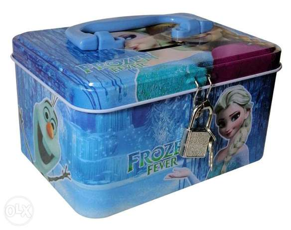 Brand New Cuboid Money Box - Frozen