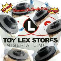 Promo on Genuine brake Disc of All Toyota and Lexus Vehicle