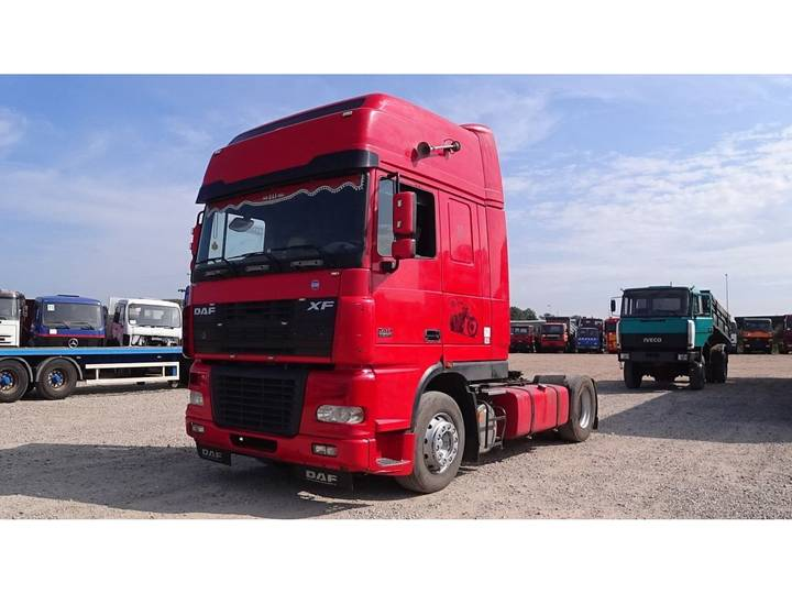 DAF 95 XF 430 Super Space Cab (MANUAL GEARBOX / PERFECT) - 2006