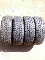 4 continental tyres size15/70/205