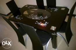Home dining table six seater