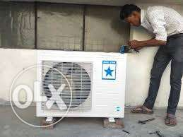 Split AC window AC ( with discount )service repairing
