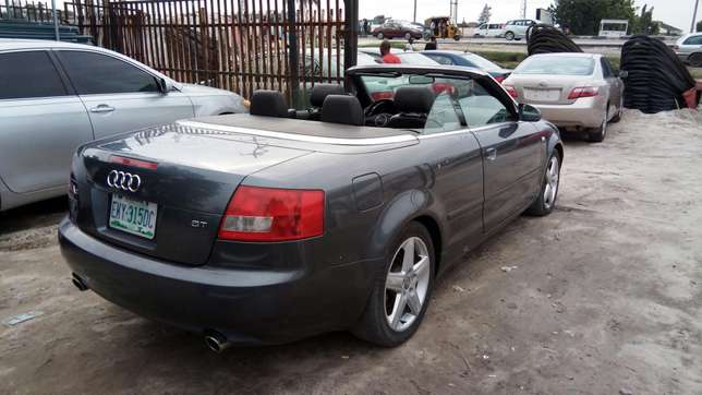 Smooth Driving Registered 2004 Audi A4 1.8T Convertible In Good Condit Lekki - image 1