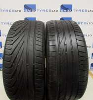 2 x 245/40/18 Standard tyres 75% (R900 each)
