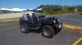 Jeep Willys 350 Chevy V8