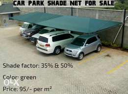 Car parking green shade net for sale