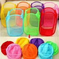 Wedding souvenir laundry basket foldable 100 pieces