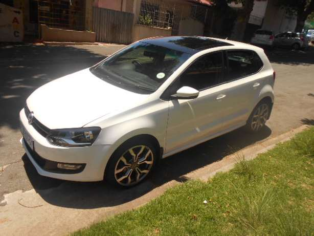 2013 VW Polo 6 1.4 with mags and a panoramic sunroof for sale Johannesburg - image 1