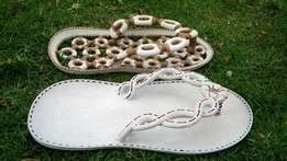 kisii soapstone Sandals master pieces