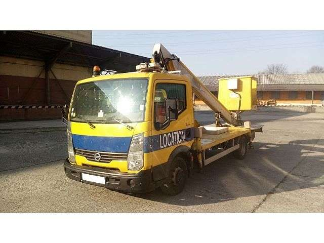 Nissan Cabstar Multitel 160 Alu Ds - 16m - 2007
