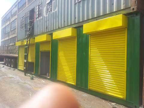 40 ft Containerized Stalls for Sale Industrial Area - image 2