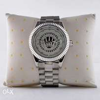 Rolex Crown Silver Wristwatch