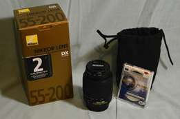 Nikon 55 - 200mm f/4-5.6G ED Lense for Sale