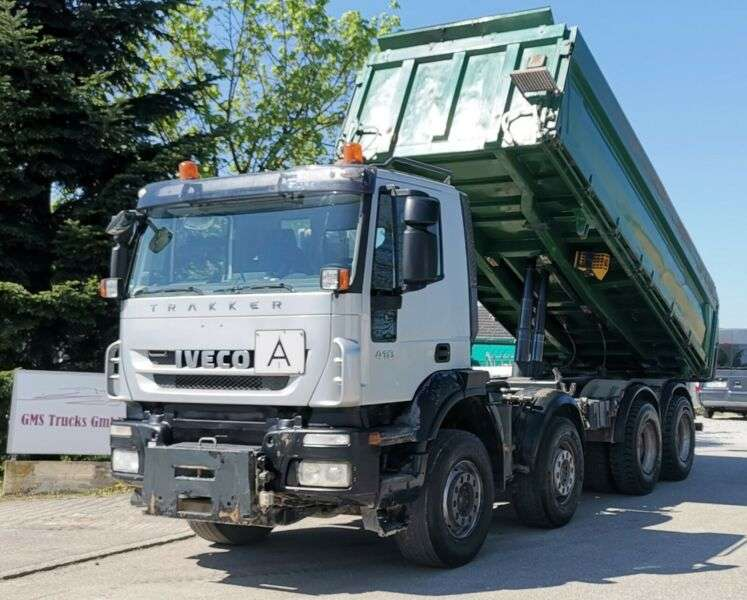 Iveco Trakker 410 / 8X4 / Meiller / Manual - 2009 - image 2