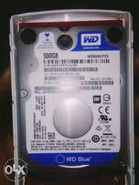 500GB WD Blue hard drive