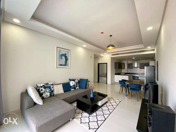 Sea view Luxury 2bhk apartment furnished for rent in seef/pools/gym