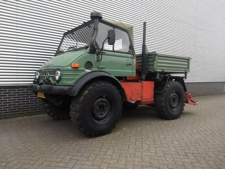 Unimog 406 Bosbouw - 1985
